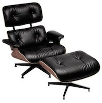 Eames Lounge Chair and Ottoman | DWR midcentury-armchairs