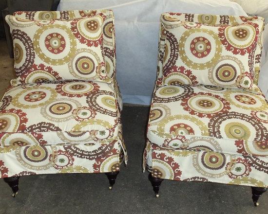 Customer Custom Orders - Robin Bruce Travers Chairs