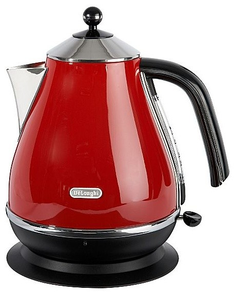 Delonghi Red Icona Kettle Modern Kettles By House Of