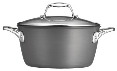 Tramontina Gourmet Hard Anodized 5 qt. Covered Dutch Oven modern-ovens
