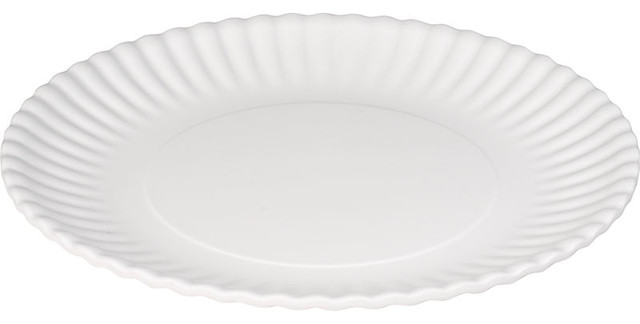 Not A Paper Plate Set Contemporary Disposable Plates And Bowls By Paper