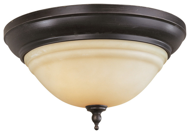 Belle Foret Montpellier Bath Collection - BF8385 2 Light Ceiling Mount Lighting bathroom-lighting-and-vanity-lighting
