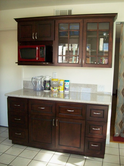 Jane's Chocolate Kitchen (Renderings and Complete) - Modern - Kitchen Cabinetry - orange county ...