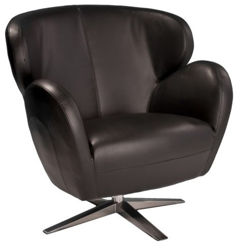 Best Selling Home Decor Modern Black Leather Chair modern-chairs