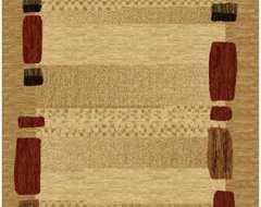 LA Rug 0111-16 Sequoia Collection Area Rug contemporary rugs