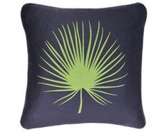 Frond EcoArt Organic Pillow contemporary-decorative-pillows