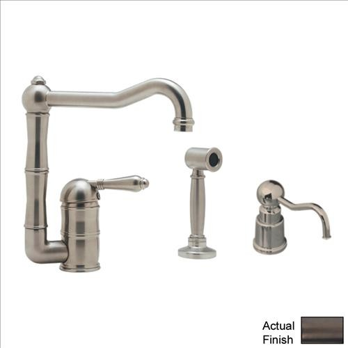Rohl AKIT36081LMWSTCB-2 Kitchen Faucet traditional-kitchen-faucets