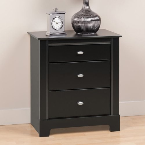 Small Black Nightstand With Drawers 28 Images