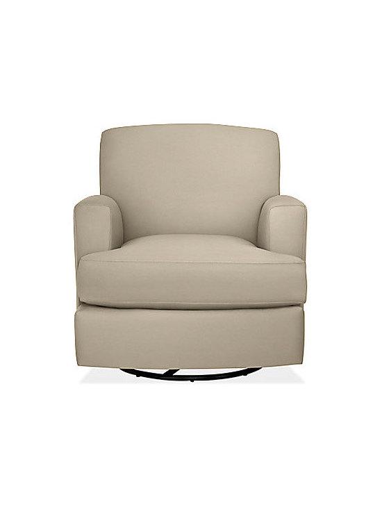 Carter Glider-Swivel Chair & Ottoman -