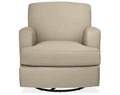 Carter Glider-Swivel Chair & Ottoman contemporary-rocking-chairs-and-gliders