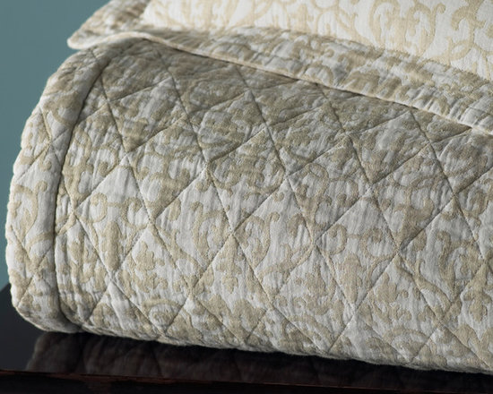 Francesca Coverlet - Peacock Alley Quilted Coverlet, Francesca Coverlet