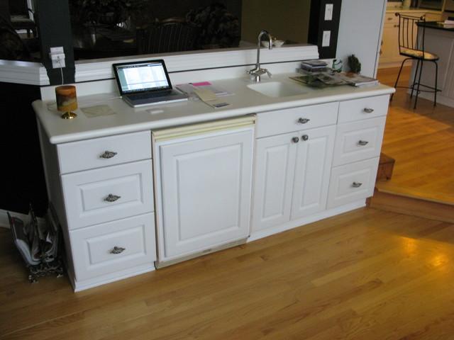 Kitchen remodel in Ottawa - Before