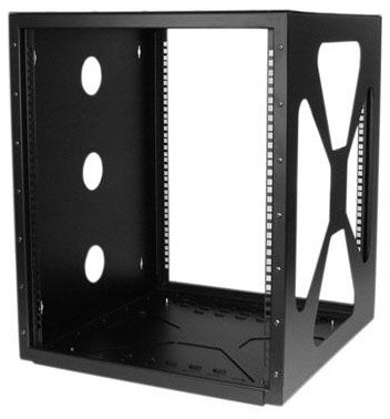 12U Wall Mount Cabinet modern-display-and-wall-shelves