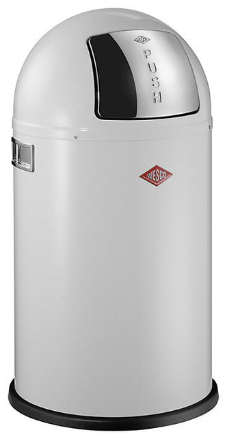 Wesco Pushboy Junior Bin, 22L modern-trash-cans