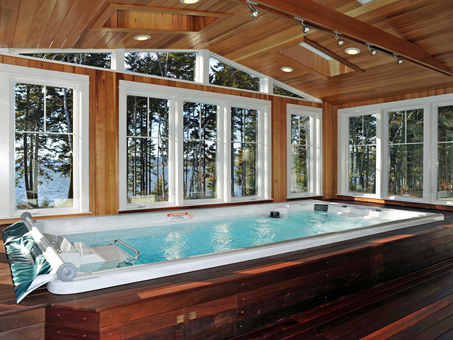 Endless Pool Spa Series Contemporary Hot Tub And Pool
