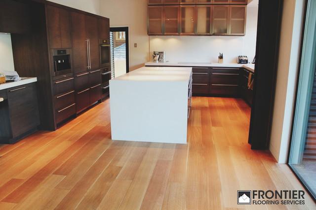 Frontier's Harmony Supreme Series Long Length Engineered Hardwood Flooring contemporary