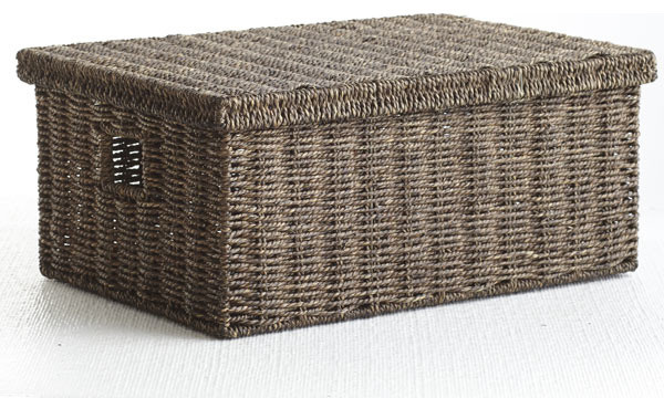 Handmade Seagrass Baskets : Handmade seagrass basket traditional baskets dallas