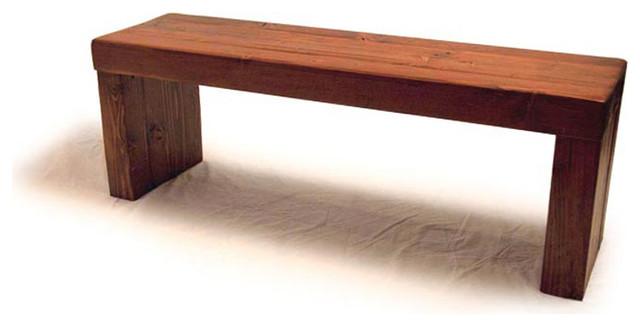 4x4 bench plans