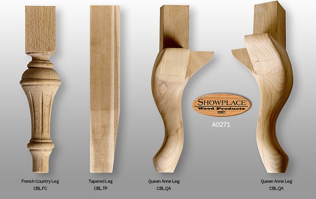 Cabinet Base Legs - Showplace Cabinets - Traditional - Kitchen Cabinetry - other metro - by ...