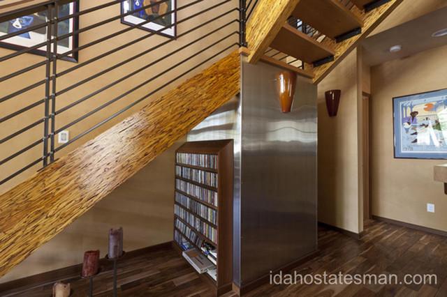 18th & Dewey Residence, Boise Idaho modern-staircase