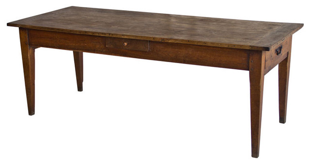 19th Century French Farmhouse Table Furniture Calgary