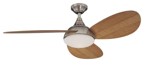 Shop Harbor Breeze 52 Inch Avian Ceiling Fan Brushed