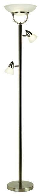 3-in-1 Design Contemporary Torchiere Floor Lamp contemporary-floor-lamps
