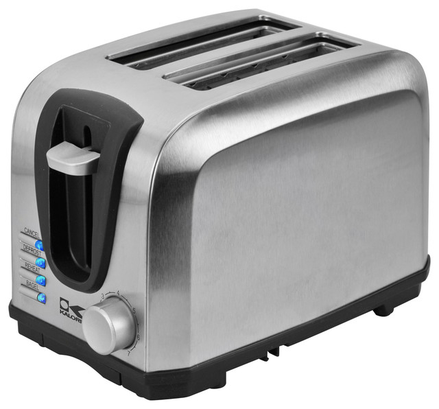 High Tech Toaster  Slice Contemporary Toasters By