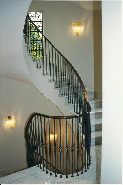 stair rails modern