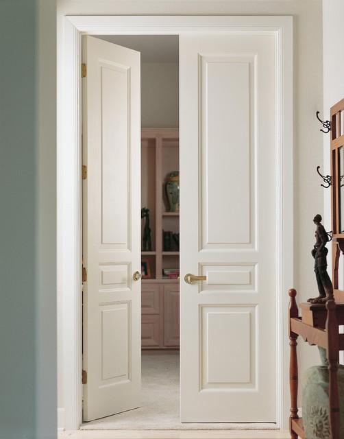 Supa Doors 3 Panel Traditional Interior