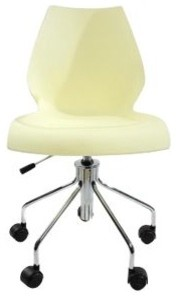 Maui Swivel Chair Height-Adjustable by Kartell modern-task-chairs