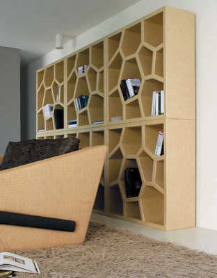Opus Incertum Bookcase contemporary bookcases