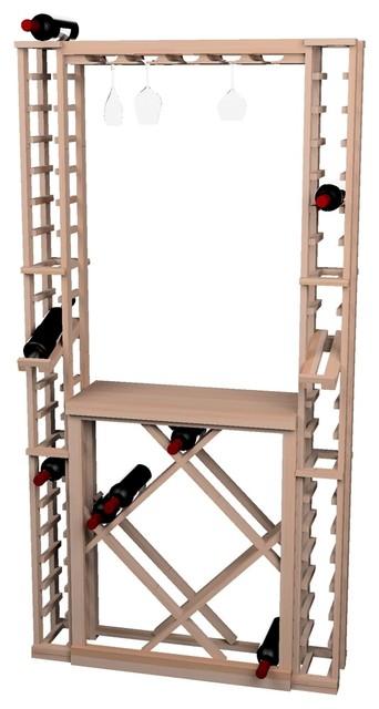 Tasting Center Bundle Glass Rack, Table Top, Individual & Diamond Storage contemporary-wine-racks