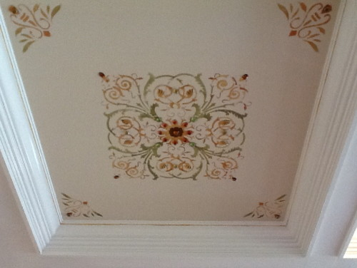 )coffered ceiling traditional