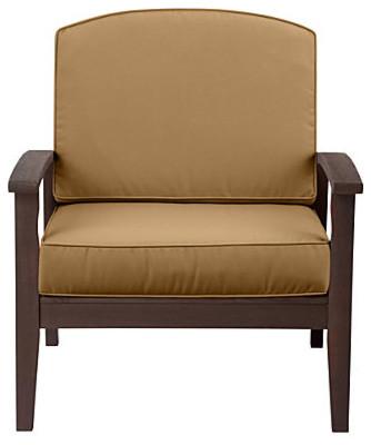 Sunbrella Deep Seat Cushion Set Box Edge 17 X24 X5 1 2 Bac