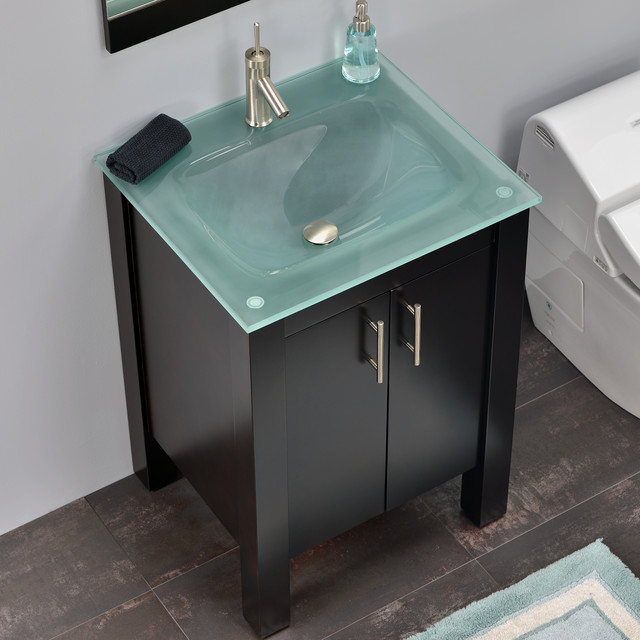 Modern bathroom vanities contemporary bathroom vanity units sink cabinets miami by - Contemporary european designer bathroom vanities ...
