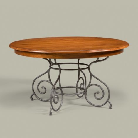 Lovely Ethan Allen Dining Room Table Round By Maison Brittany Dining Table  Traditional Dining Tables ...