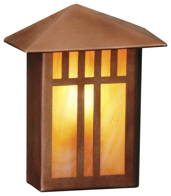 Arts And Crafts Mission Mission Lantern II 4 5 8 High Copper Deck And