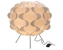 Fillsta Floor Lamp, White eclectic-floor-lamps
