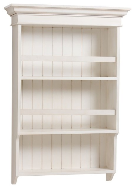worn white vertical plate rack - Traditional - Dish Racks ...