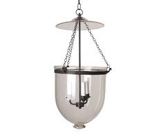 Clear Hall Lantern traditional pendant lighting