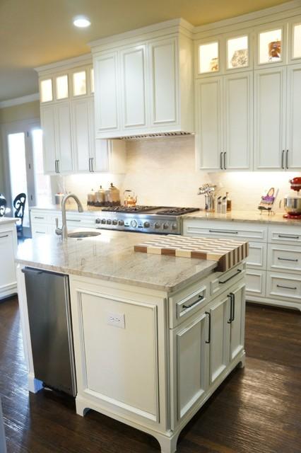 Fresh Kitchen with Custom Butcher Block traditional-kitchen