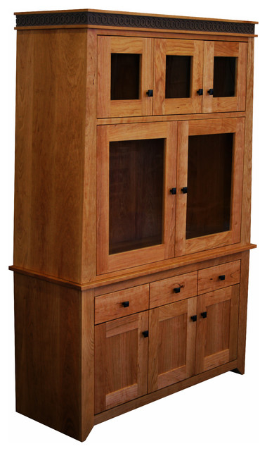 Messinger Hutch Craftsman China Cabinets And Hutches