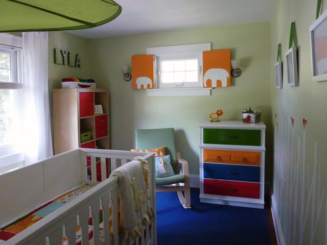 Modern Nuetral Nursery modern-kids