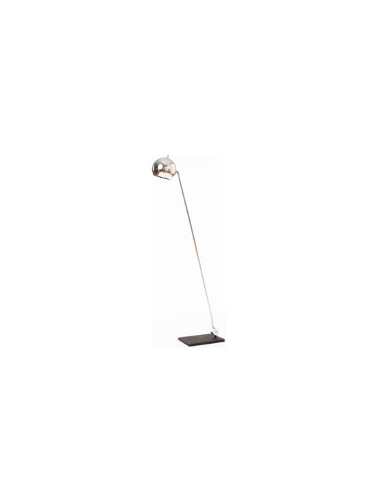 Vintage Chrome Floor Lamp -