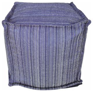 dorado pouf rainfall blue modern floor pillows and