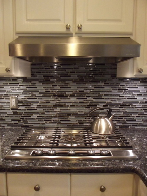 Blue pearl counters in need of a backsplash