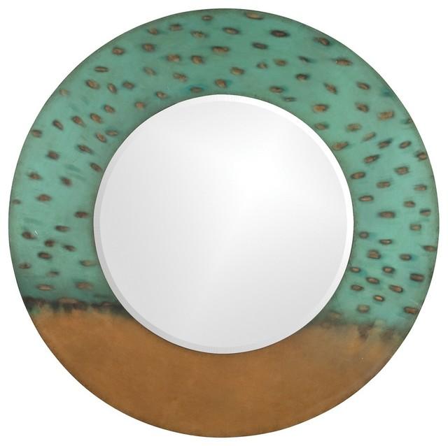 Maya Round Mirror contemporary-mirrors