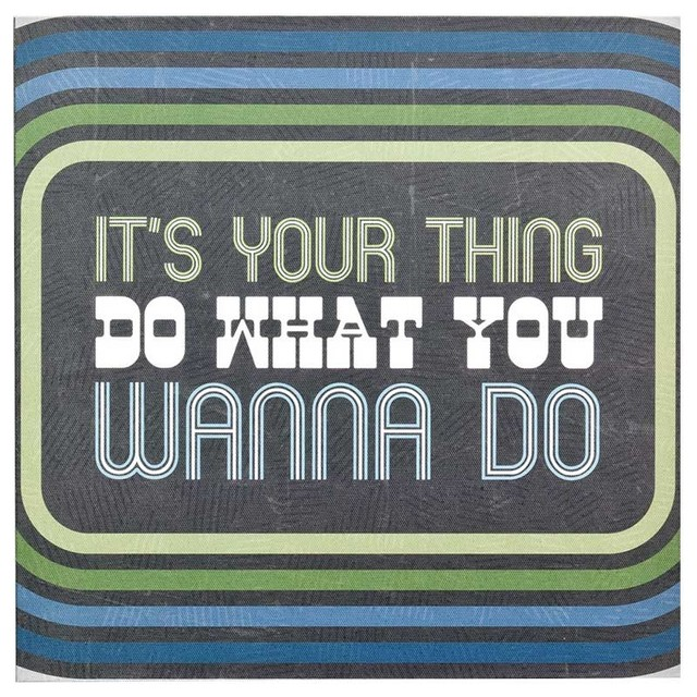 DEMDACO Lyricology It's Your Thing Wall Art contemporary-artwork