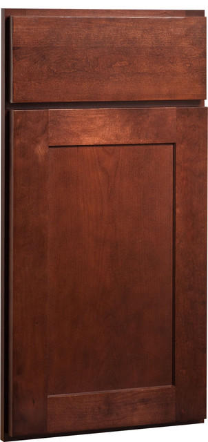 Rockford Door | Cherry Russet Finish | CliqStudios.com Kitchen Cabinets contemporary-kitchen-cabinetry